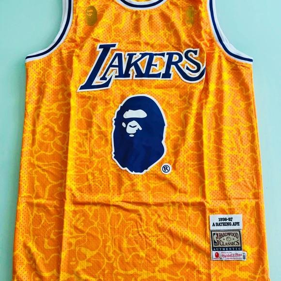 Bape Lakers. NWT 5a888f48b